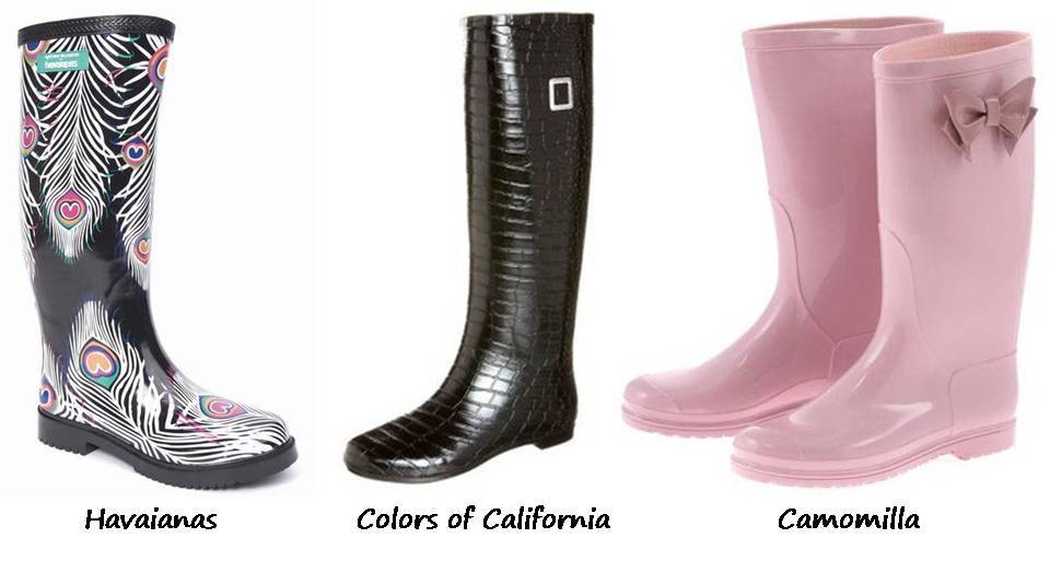 anteprima di anteprima di adatto a uomini/donne Rain boots | Three women in the world